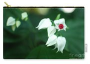 Bleeding Heart Vine Blossom Carry-all Pouch