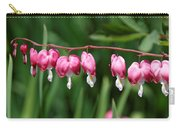Bleeding Hearts All In A Row Carry-all Pouch