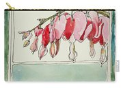 Bleeding Hearts II Carry-all Pouch by Mary Benke