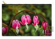Bleeding Hearts Carry-all Pouch by Robert Bales