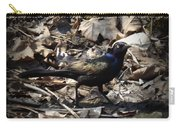 Blending In Metallic Starling Carry-all Pouch