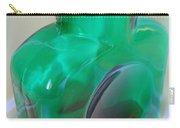 Blenko Green Carry-all Pouch