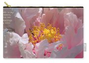 Blessings And Blossoms  Carry-all Pouch
