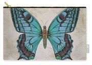 Bleu Papillon-c Carry-all Pouch