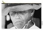 Blind Man Juarez Chihuahua Mexico 1968 Carry-all Pouch
