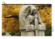 Blissful Angel In Autumn Carry-all Pouch