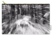 Blizzard In The Forest Carry-all Pouch by Dan Sproul