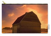 Blocked Sunrise Carry-all Pouch