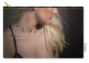 Blond Girl With Naked Breast 1287.02 Carry-all Pouch