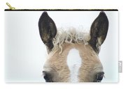 Blonde Horse Carry-all Pouch