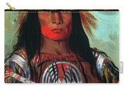 Blood Head Chief, 1832 Carry-all Pouch