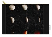 Blood Moon Lunar Eclipse 2014 Color Carry-all Pouch