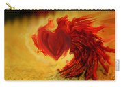 Blood Red Heart Carry-all Pouch