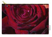 Blood Red Rose Carry-all Pouch