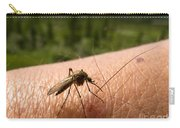 Blood Thirsty Mosquito On Human Arm Carry-all Pouch