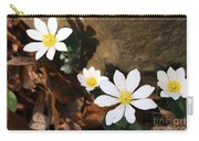 Bloodroot Beauty Carry-all Pouch
