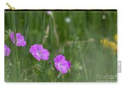 Bloody Cranesbill Wild Flowers Carry-all Pouch