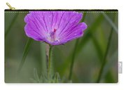 Bloody Geranium Wild Flower Carry-all Pouch