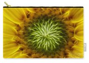 Bloom Of The Sunflower Carry-all Pouch