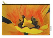 Bloomed Yellow Tulip Carry-all Pouch