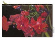 Bloomin' Red Carry-all Pouch