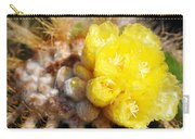 Blooming Barrel Cactus Carry-all Pouch
