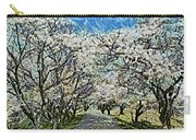Blooming Cherry Tree Avenue Carry-all Pouch