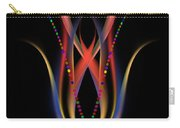 Blooming Digital Artwork Carry-all Pouch