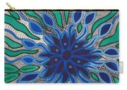 Blooming In Blue Carry-all Pouch