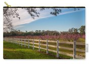 Blooming Peach Tree's At Boone Hall Carry-all Pouch
