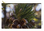 Blooming Pinecone Carry-all Pouch