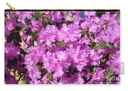 Blooming Pink Azaleas Carry-all Pouch