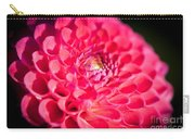 Blooming Red Flower Carry-all Pouch by John Wadleigh