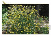 Blooming Rudbeckia Bush Carry-all Pouch