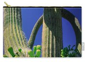 Blooming Saguaro Carry-all Pouch
