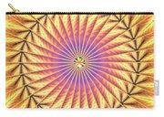 Blooming Seasons Kaleidoscope Carry-all Pouch by Derek Gedney