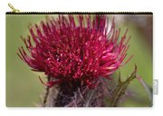 Blooming Spear Thistle Carry-all Pouch