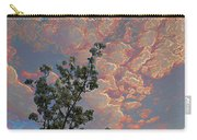 Blooming Tree And Sky Carry-all Pouch