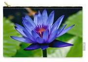 Blooming Water Lily Carry-all Pouch