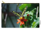 Blooms And Butterfly1 Carry-all Pouch