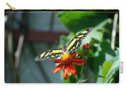 Blooms And Butterfly2 Carry-all Pouch