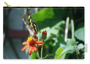 Blooms And Butterfly4 Carry-all Pouch