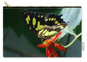 Blooms And Butterfly7c Carry-all Pouch