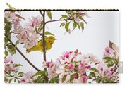 Blossom And Bird Carry-all Pouch