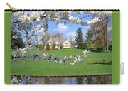 Blossom-framed House Carry-all Pouch