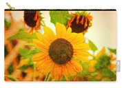 Blossoming Sunflower Beauty Carry-all Pouch