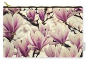 Blossoming Of Magnolia Flowers In Spring Time Carry-all Pouch