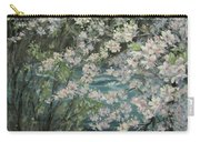 Blossoming River Carry-all Pouch