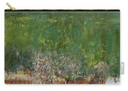 Blossoming Tree In The Garden Carry-all Pouch