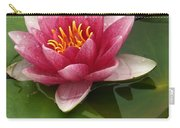 Blossoming Waterlily Carry-all Pouch